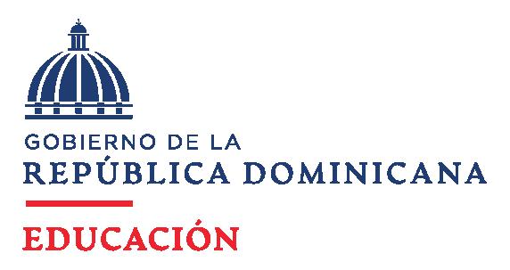 Logo institucional del ministerio de educación de la República Dominicana